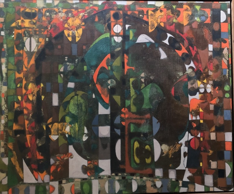 Joe DOWNING - Pintura - SANS TITRE