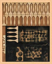 Louise NEVELSON - Peinture - Untitled