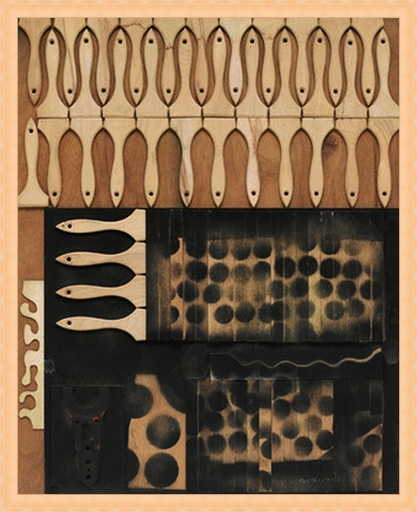 Louise NEVELSON - Painting - Untitled