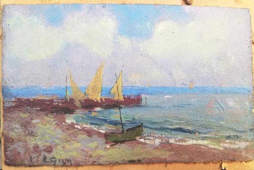 Lorenzo GIGNOUS - Painting - Sesto Calende