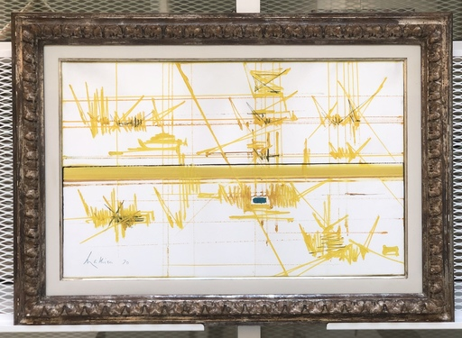 Georges MATHIEU - Painting - VIZILLES