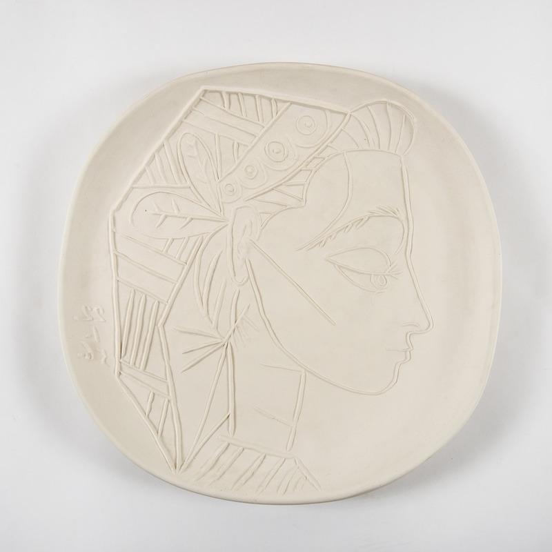 Pablo PICASSO - Céramique - Profil de Jacqueline