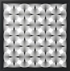 Marcello MORANDINI - Scultura Volume - Wall object 593A