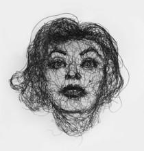 Hellen HALFTERMEYER - Escultura - Dark Marilyn