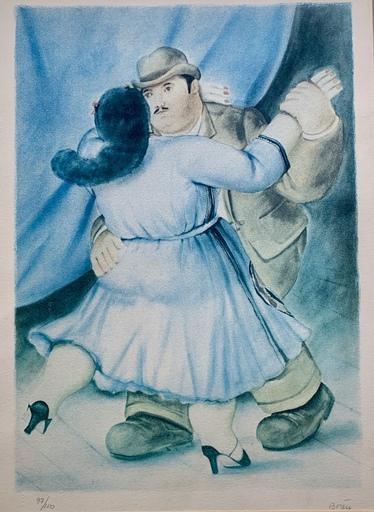 费尔南度‧波特罗 - 版画 - Bailarines