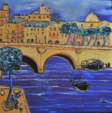 Jean-François BRAHIN - Peinture - PARIS - Le Pont Neuf
