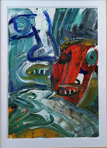 Bengt LINDSTRÖM - Drawing-Watercolor - Sans-titre