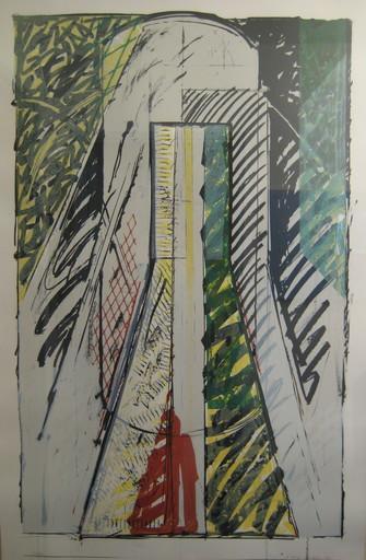 Gérard TITUS-CARMEL - Print-Multiple - LITHOGRAPHIE SIGNÉ CRAYON NUM/40 HANDSIGNED LITHOGRAPH CADRE