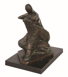 Chana ORLOFF - Sculpture-Volume - Pensee accoudee  II, 1964