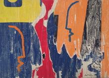 Mimmo ROTELLA - Painting - Colorato