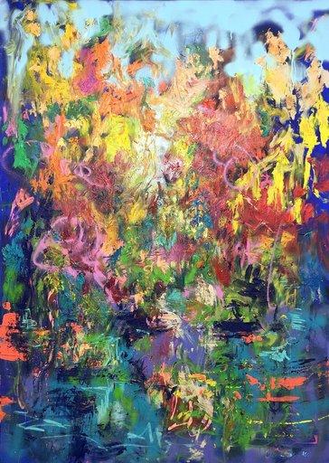 Nicole LEIDENFROST - Gemälde - Happy Hour