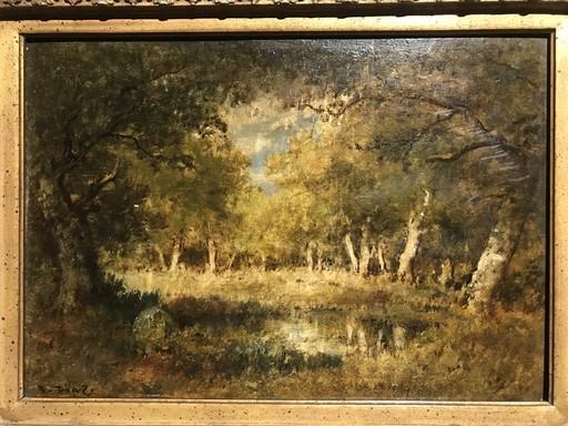 Narcisse Virgile DIAZ DE LA PEÑA - Pintura - Le Bois de Fointainebleau