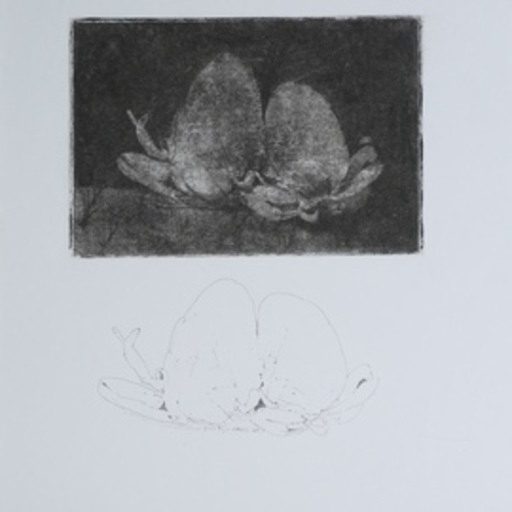 Philippe GAREL - 水彩作品 - Sans titre (60)