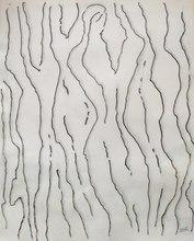MAN RAY - Drawing-Watercolor - Les filles de la forêt