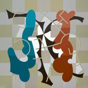 Enrique Rodriguez GUZPENA - Painting - Gamusino de las diez sombras