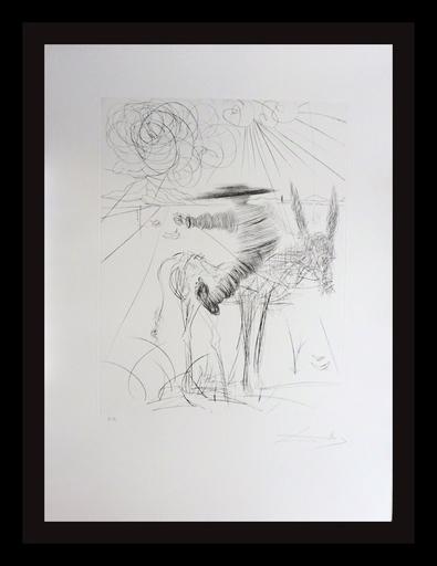 Salvador DALI - Estampe-Multiple - Don Quixote & Sancho Panza Sancho Panza