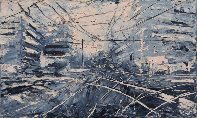 Ronald FRANKE - Pittura - o.T.