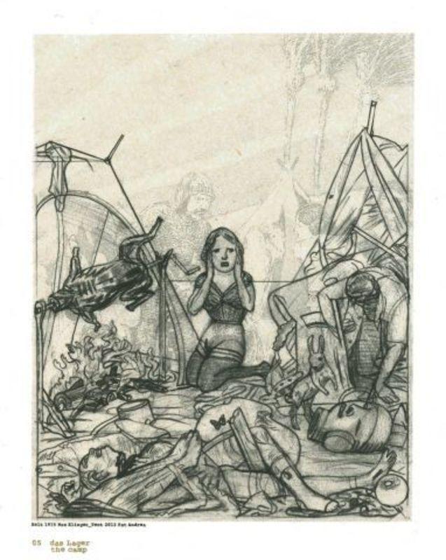 Pat ANDREA - Druckgrafik-Multiple - Tent 5