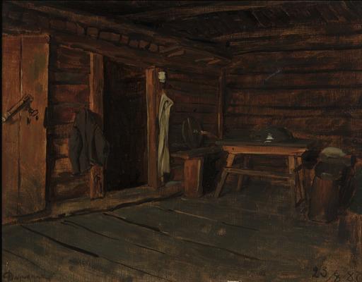 Franz VON DEFREGGER - Pintura - Interno di cucina