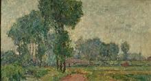 Emile ANCELET - Pintura - paysage