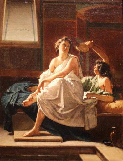 Federico MALDARELLI - Pintura - Bagnante