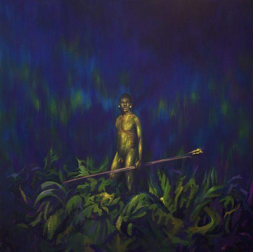 Guillaume MONTIER - Painting - « L'homme doré »