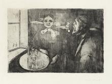 Edvard MUNCH - Print-Multiple - Tête-à-tête