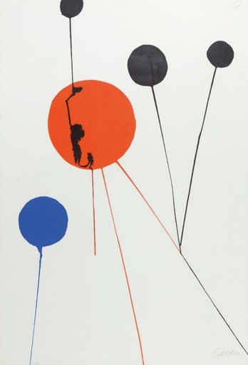 Alexander CALDER - Estampe-Multiple - Balloons