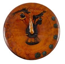 巴勃罗•毕加索 - 陶瓷  - Visage au grand nez