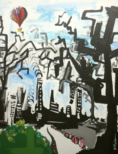 Saverio FILIOLI - Peinture - Un pò più in la