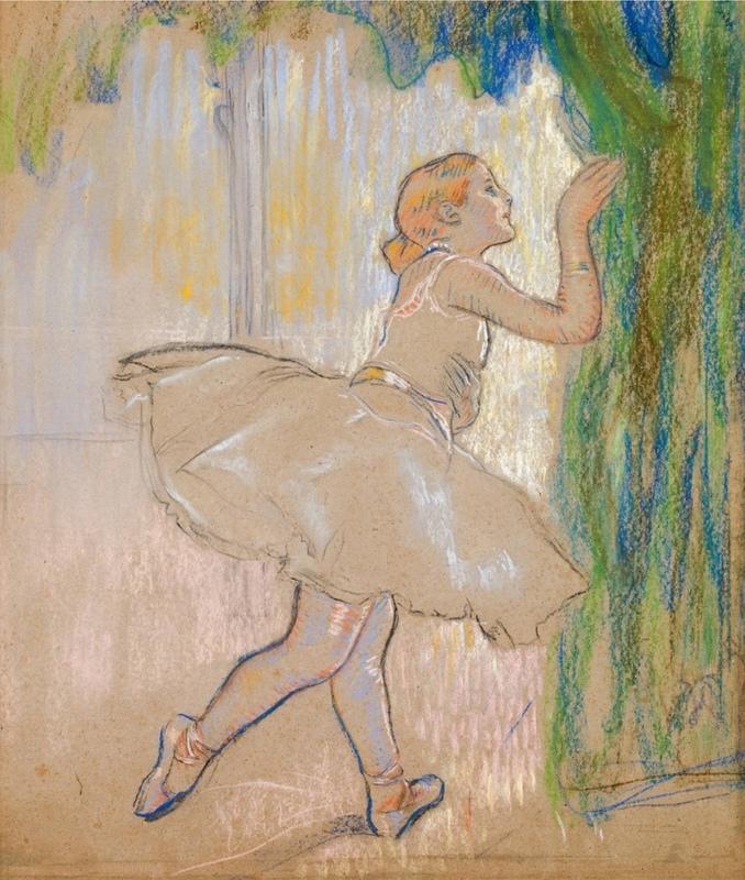Louis LEGRAND - Drawing-Watercolor - Danseuse