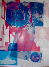 Robert RAUSCHENBERG - Print-Multiple - Untitled