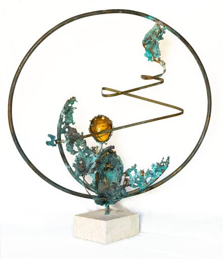 Edgardo MANNUCCI - Sculpture-Volume - Cerchio