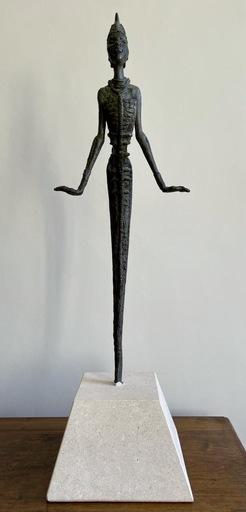 Benedict Chukwukadibia ENWONWU - Skulptur Volumen - ANYANWU