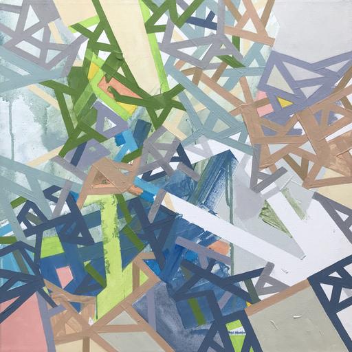 Philippe HALABURDA - Painting - Errors and Windiigo