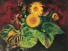 John PIPER - Print-Multiple - Sunflowers