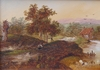 Charles Greville MORRIS - Painting - Morning Light, Midday and Evening (Set of 3)