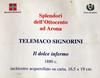 Telemaco SIGNORINI - Dessin-Aquarelle - Dolce inferno