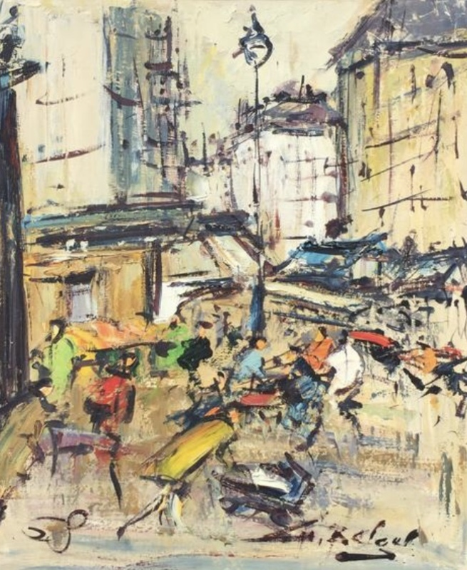 Georges BERGER - Pintura - PARIS MONTMARTRE