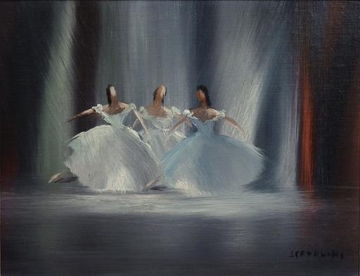 Alberto SPADOLINI - Painting - Pas de Trois