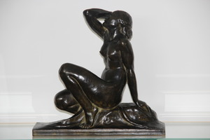 Jean ORTIS - Sculpture-Volume - Baigneuse