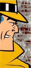 SEEN - Painting - Dick Tracy