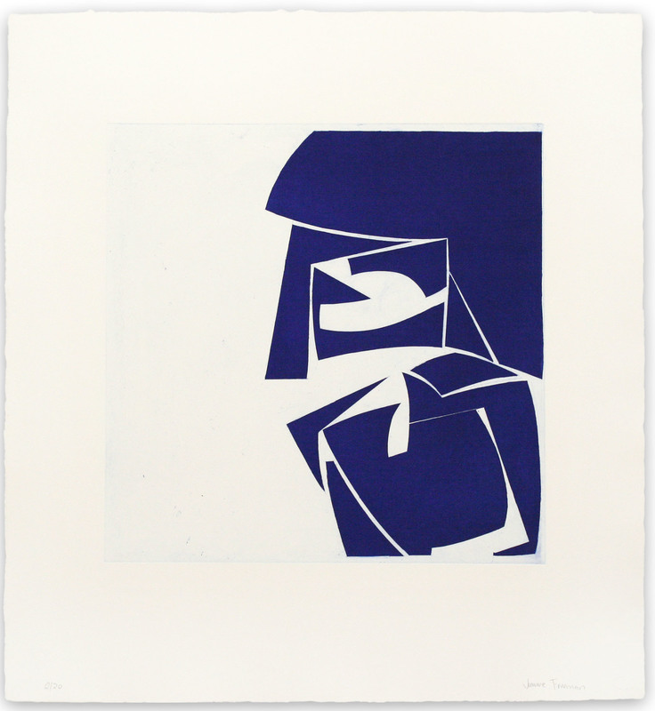 Joanne FREEMAN - Print-Multiple - Covers 3 Ultramarine