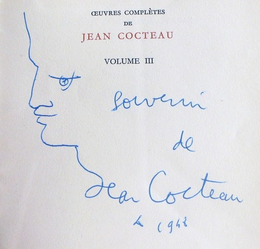 Jean COCTEAU - Drawing-Watercolor - « Orphée »