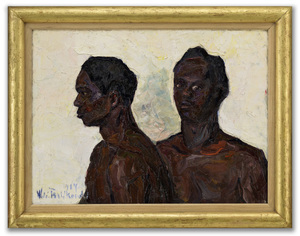 Wlodzimierz TERLIKOWSKI - Painting - Two Figures