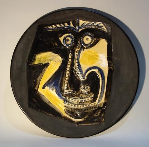 Pablo PICASSO - Ceramic - Visage (A.R. 446)