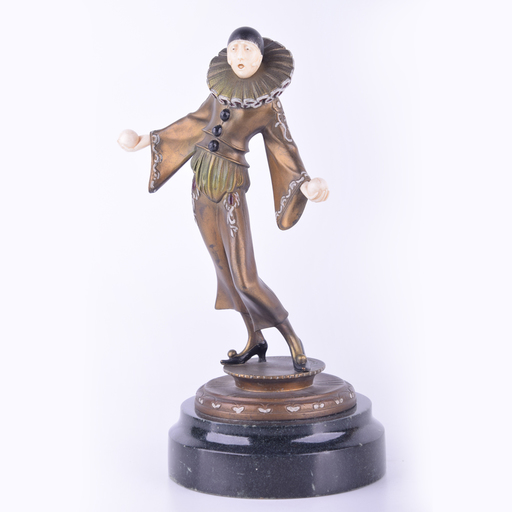 Gustav SCHMIDTCASSEL - Sculpture-Volume - Untitled (Singing Juggler