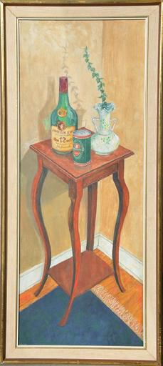 Alexandra Nicholaeva PREGEL - Painting - Still life with a Jameson whiskey