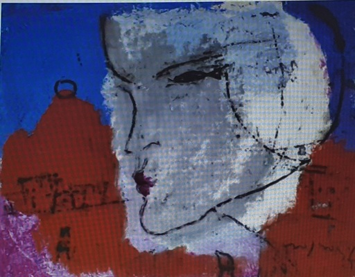 Franco ROGNONI - Gemälde - luisa
