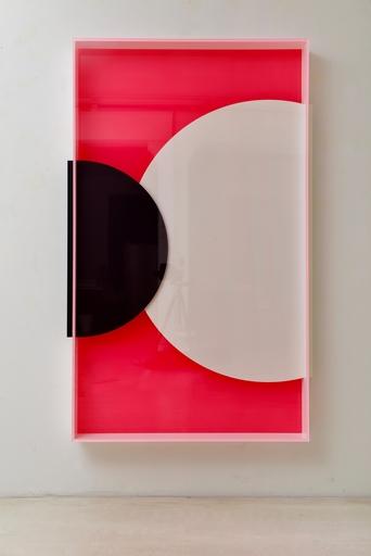 Regine SCHUMANN - Skulptur Volumen - colormirror moons  no.11